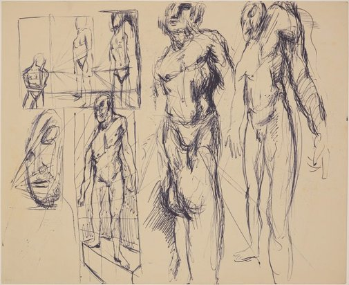 An image of (Figure studies in perspective) by James Gleeson