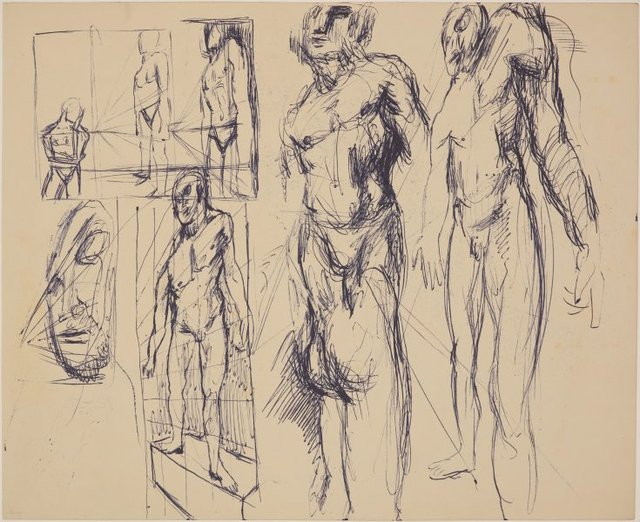 An image of (Figure studies in perspective)