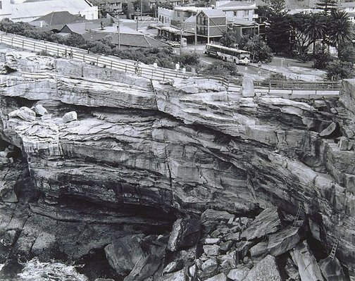 An image of Cliff at Watsons Bay, New South Wales by Peter Elliston