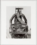 An image of Blast furnaces by Bernd Becher, Hilla Becher