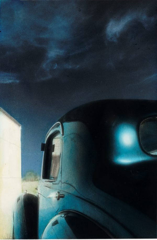 An image of Untitled (car and sky)