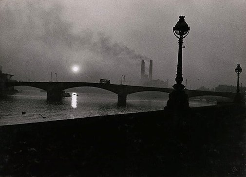 An image of The Thames from Chelsea by David Moore