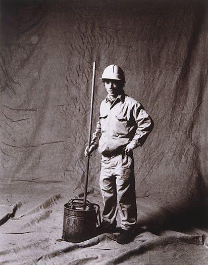 An image of George Cutrone, handyman, CSR 17 years, Italian by Graham McCarter