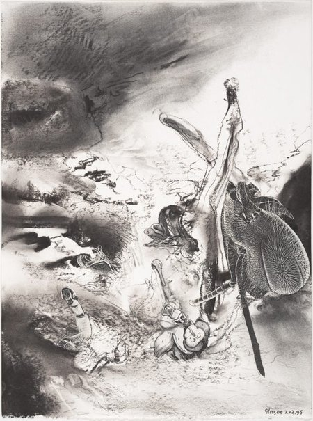 An image of Study for 'A trick of memory' by James Gleeson