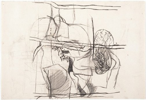 An image of (Sheet of nude studies) by Brett Whiteley