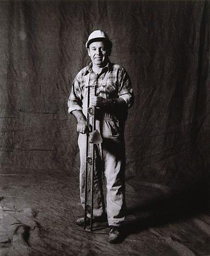 An image of Joe Kerezi, master tradesman, CSR 8 years, Croatian by Graham McCarter