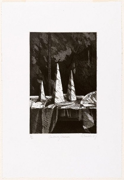 An image of Contrasts/Obelisks by Earle Backen