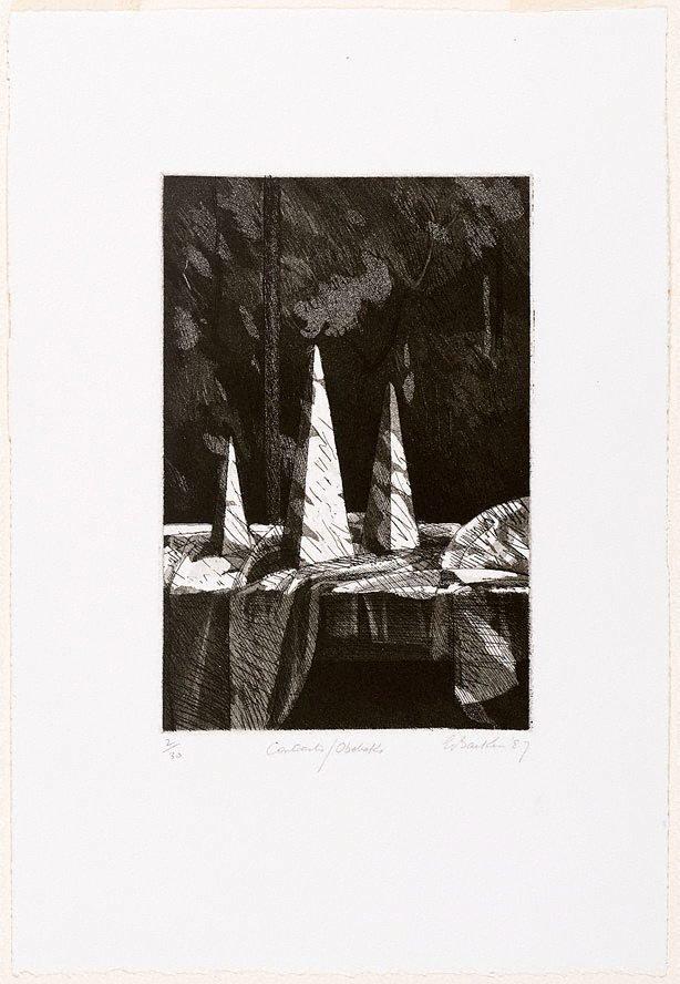 An image of Contrasts/Obelisks