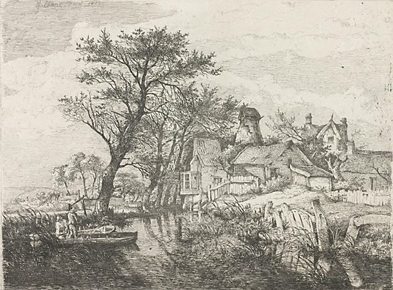 An image of Back of the new mills, Norwich