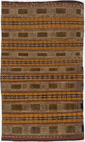 An image of Woman's ceremonial skirt (tapis) by