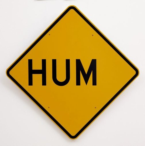 An image of Hum by Richard Tipping