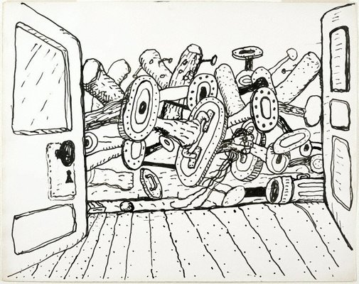 An image of Untitled by Philip Guston