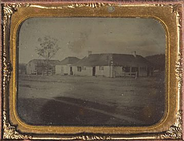 An image of The Store and residence of John Bourne Crego and his partner, Henry Wilshire Webb