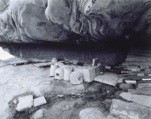 An image of Fireplace in cave, Coast Golf Course, Little Bay New South Wales