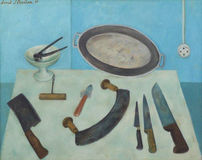 AGNSW collection David Strachan Batterie de cuisine (1956) 23.1973