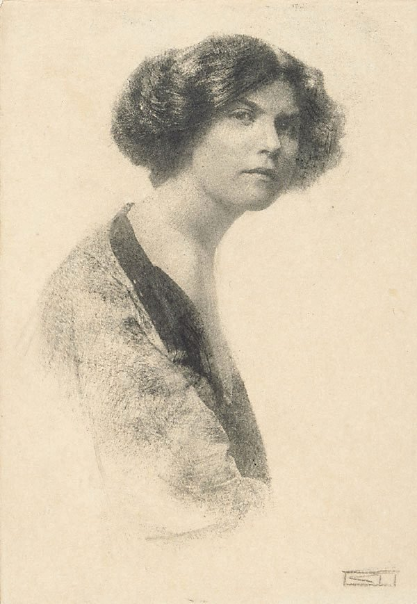 An image of Untitled (female portrait)