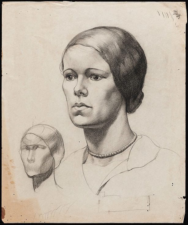 An image of Portrait of a young woman
