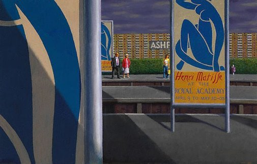 An image of Matisse at Ashford by Jeffrey Smart