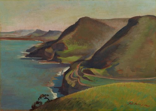 An image of From Stanwell Park by Adelaide Perry