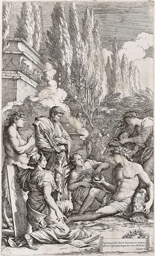 An image of The genius of Salvator Rosa