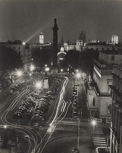 An image of London, illuminations for the Coronation by David Moore
