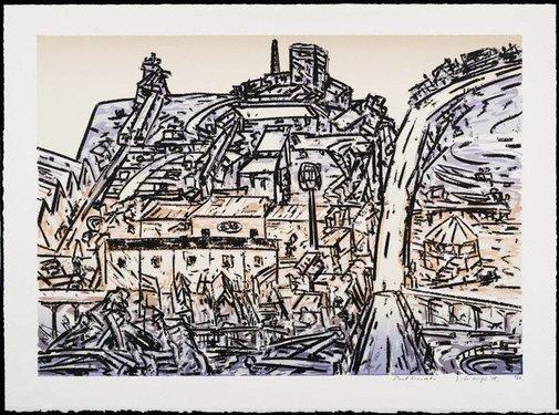 An image of Port Liardet by Jan Senbergs