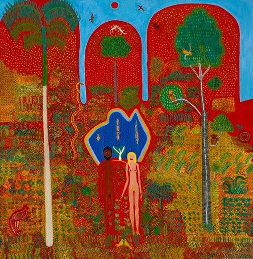 An image of The Garden of Eden by Trevor Nickolls