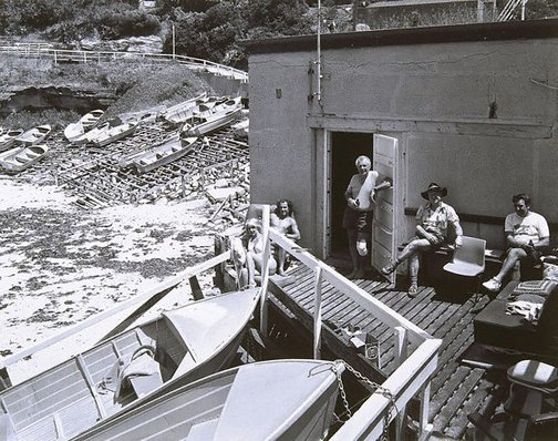 An image of Fishing club, Gordons Bay, Coogee, New South Wales by Peter Elliston