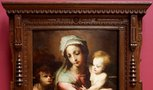 Alternate image of Madonna and Child with infant John the Baptist by Domenico Beccafumi