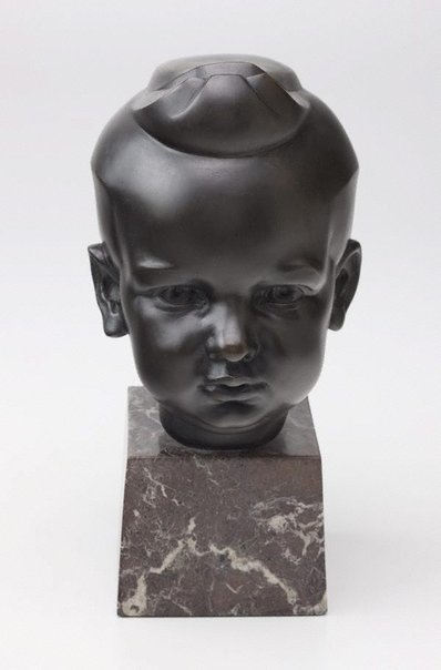 An image of Head of Norman McGrath, aged three by Eileen McGrath