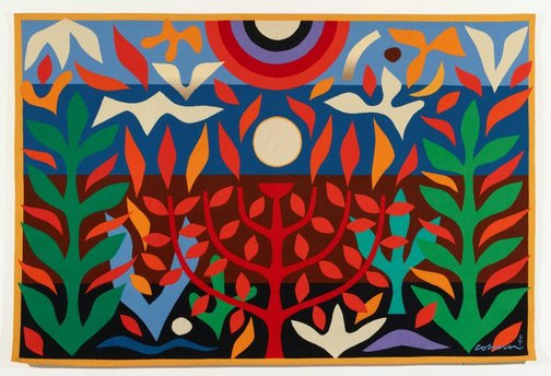 An image of The four spiritual seasons: Tree of life by John Coburn