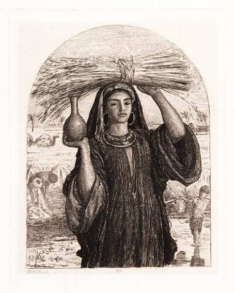 An image of The Abundance of Egypt by William Holman Hunt