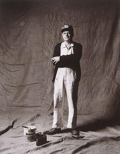 An image of Tony Cherviscer, painter, CSR 27 years, Yugoslavian by Graham McCarter
