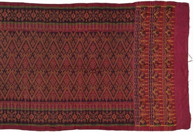 An image of Ceremonial skirtcloth (sampot chawng kbun)