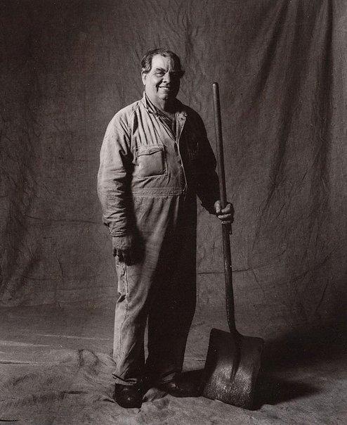 An image of Arthur Jackson, coal runner, CSR 36 years, Australian by Graham McCarter