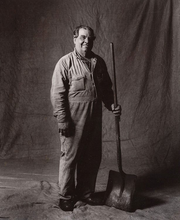 An image of Arthur Jackson, coal runner, CSR 36 years, Australian