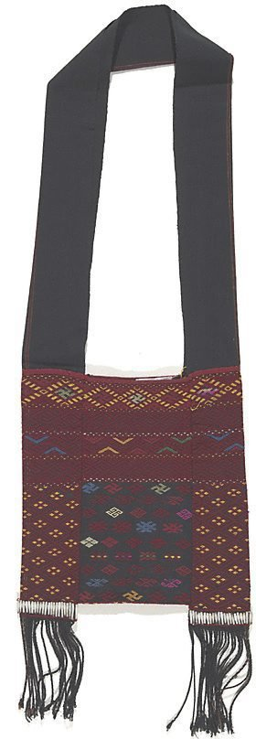 An image of Small bag with swastika motifs