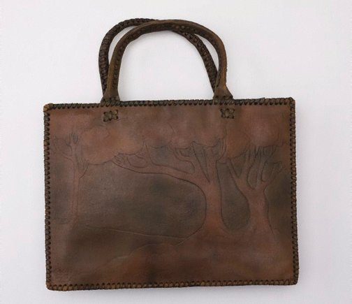 An image of Handbag with landscape design by Ethel May Spring
