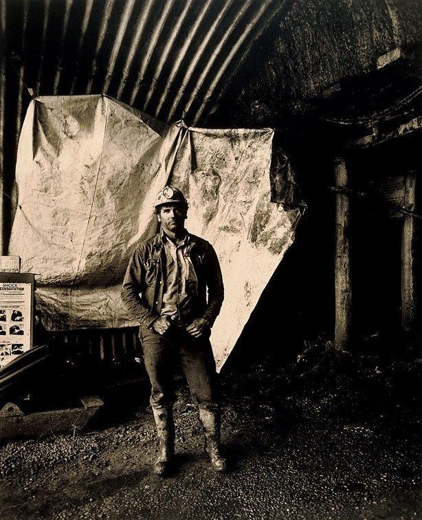 An image of Ron Burgess, loaderman