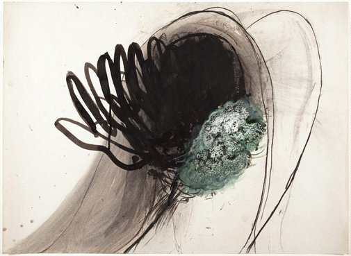 An image of (Fingers/figure study) by Brett Whiteley