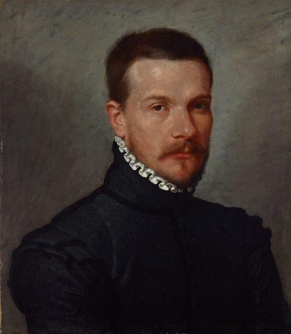Portrait of a young man, (circa 1565-1570) by Giovanni Battista Moroni