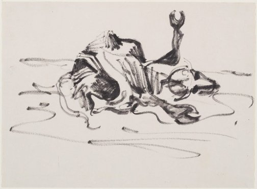 An image of Study for 'Drought' by Albert Tucker