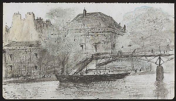 An image of Pont des Arts, Paris