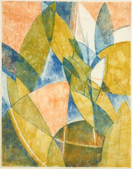 AGNSW collection Frank Weitzel Abstract design 1 circa 1932