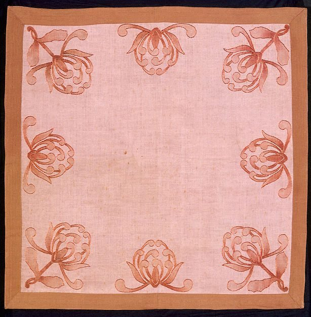 An image of Tablecloth with waratah design