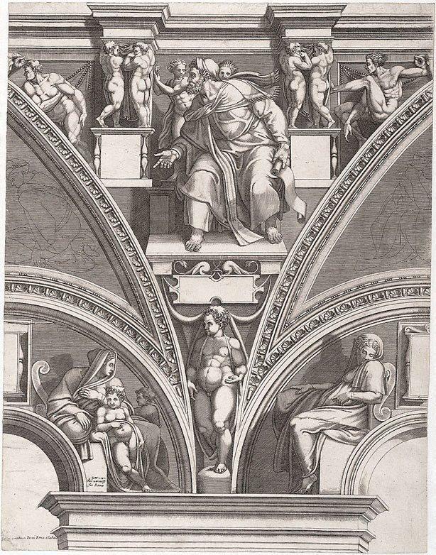 An image of The Prophet Ezekiel
