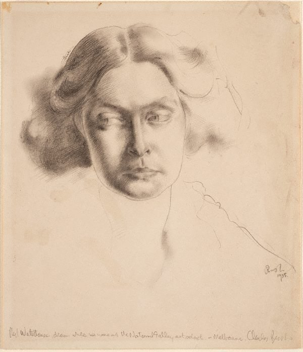 An image of Phyl Waterhouse, portrait study