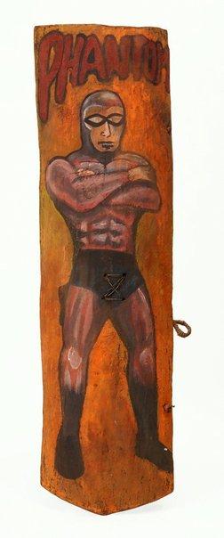 An image of Kumba reipe (fighting shield) by