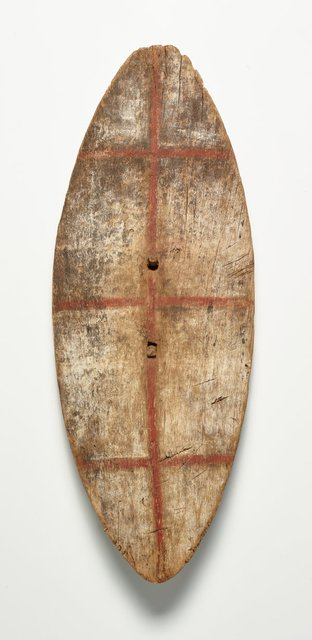 AGNSW collection Unknown A Sydney shield 236.2018