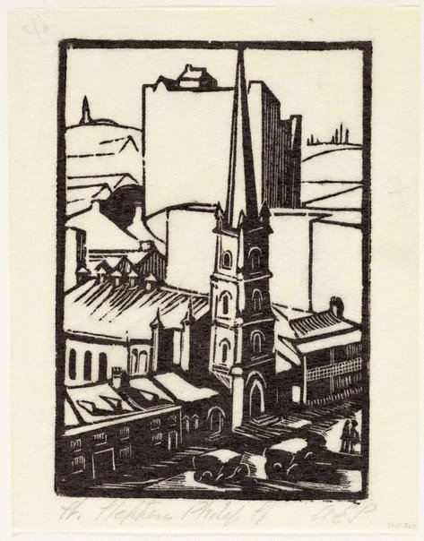 An image of St. Stephens, Philip St. by Adelaide Perry